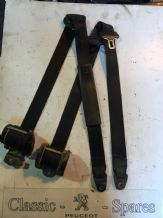 peugeot 205 Van Front Seat Belts Pair Of Drivers Side And Passengers Side